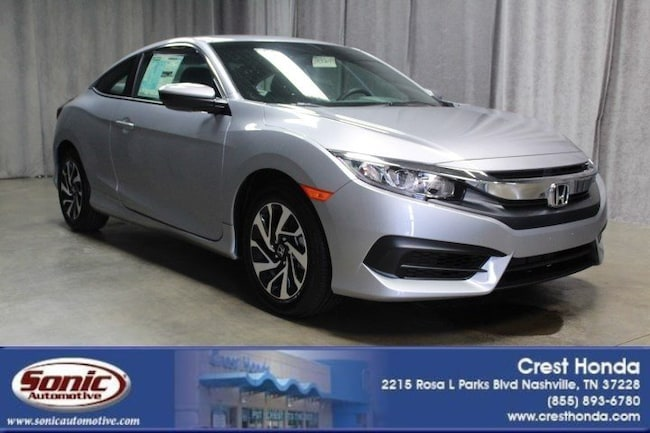 New 2018 Honda Civic LX Coupe in Nashville