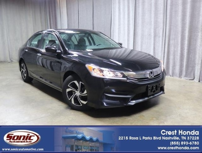 Used 2016 Honda Accord LX Sedan in Nashville