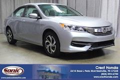 Certified 2016 Honda Accord LX 4dr I4 CVT Sedan in Nashville