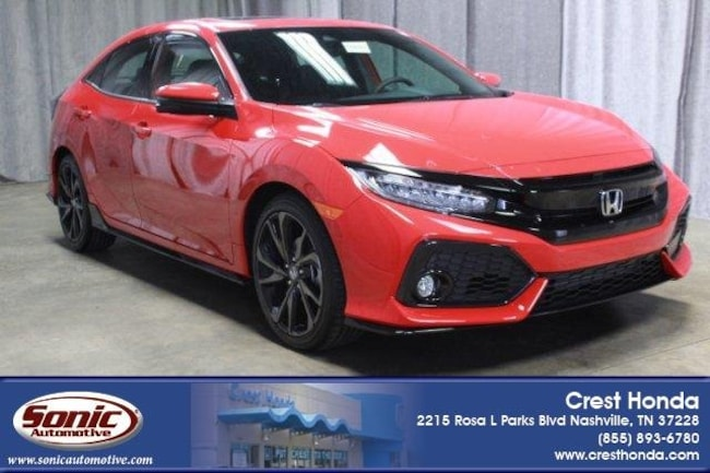 New 2019 Honda Civic Sport Touring Hatchback in Nashville