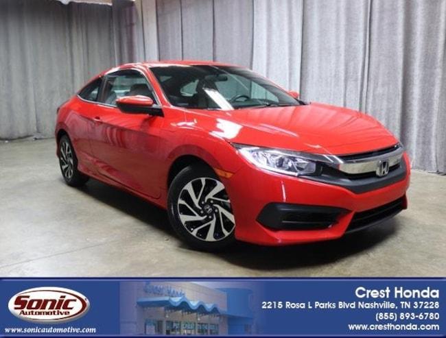 Certified 2016 Honda Civic LX 2dr CVT Coupe in Nashville