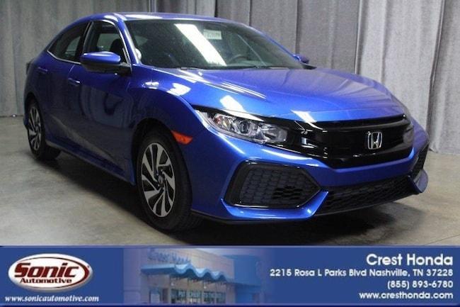 New 2018 Honda Civic LX Hatchback in Nashville