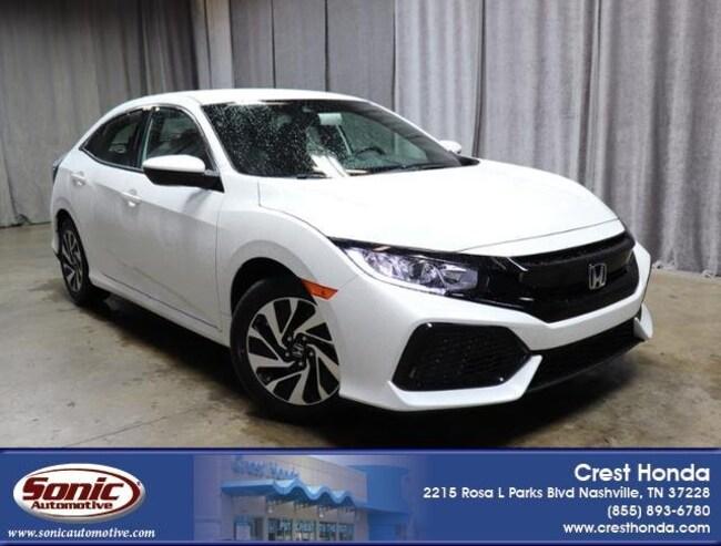 New 2019 Honda Civic LX Hatchback in Nashville