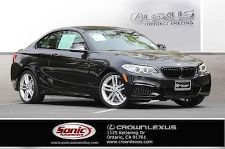 Used 2016 BMW 228i 228i 2dr Cpe  RWD Sulev Coupe for sale in Monrovia