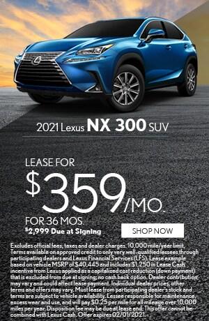 2021 Lexus NX 300 SUV