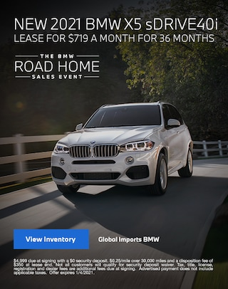 2021 BMW X5 Lease Specials