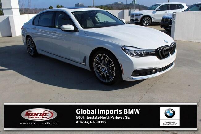 New 2019 BMW 740i 740i Sedan in Atlanta