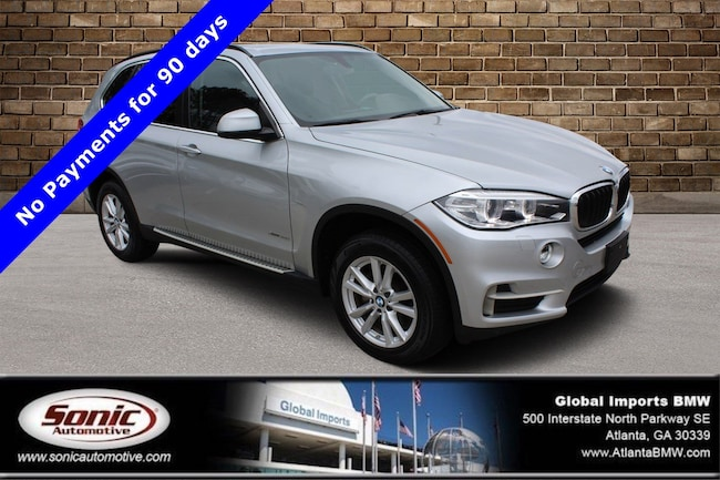 Certified Used 2015 BMW X5 xDrive35i SUV in Atlanta