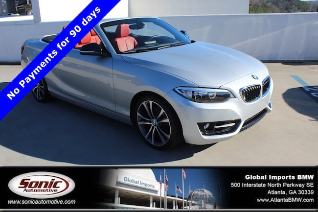 Certified Used 2015 BMW 228i Convertible in Atlanta