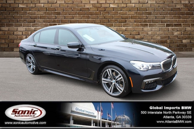 New 2019 BMW 740i Sedan in Atlanta