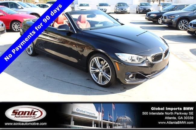 Certified Used 2016 BMW 428i SULEV Convertible in Atlanta