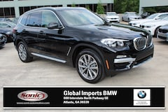 New 2019 BMW X3 sDrive30i SAV in Atlanta