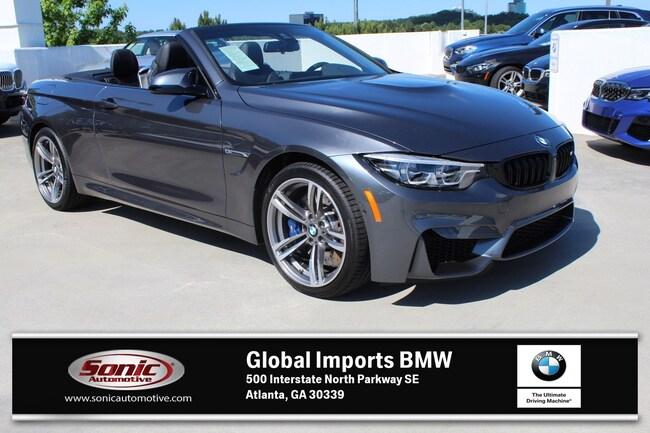 New 2020 BMW M4 Convertible in Atlanta