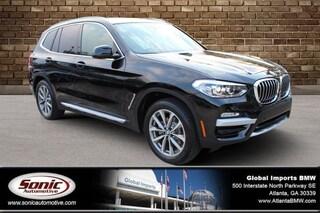 New 2019 BMW X3 sDrive30i SAV for sale in Atlanta, GA