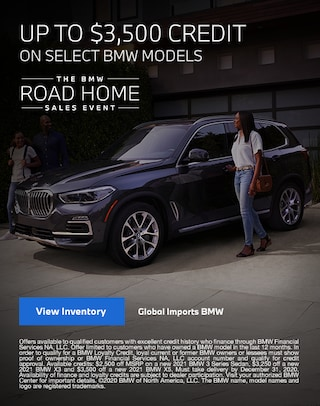 BMW Road Home Sales Event