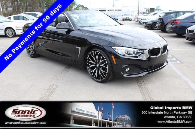 Certified Used 2015 BMW 428i Convertible in Atlanta