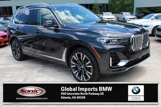 New 2019 BMW X7 xDrive50i SUV in Atlanta