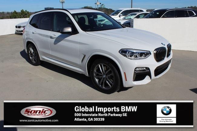 New 2019 BMW X3 M40i SAV in Atlanta