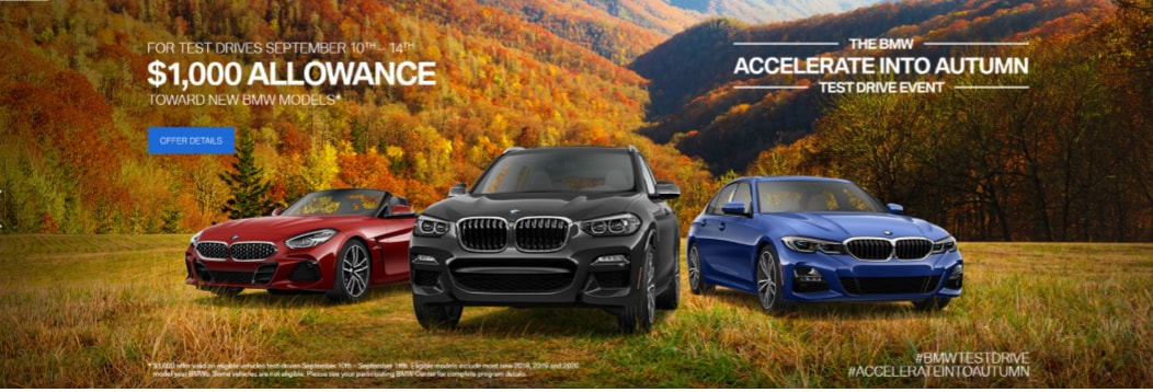 Accelerate Into Autumn Test Drive Event - Global BMW