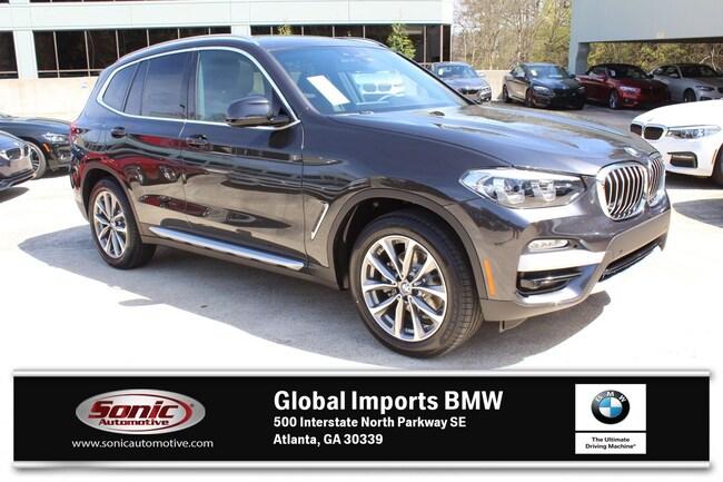 Used 2019 BMW X3 sDrive30i SAV in Atlanta