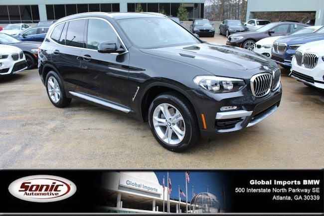 New 2019 BMW X3 sDrive30i SAV in Atlanta