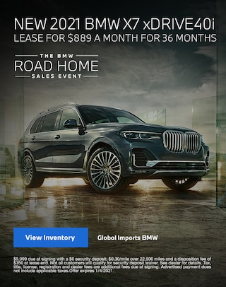 2021 BMW X7 Lease Specials