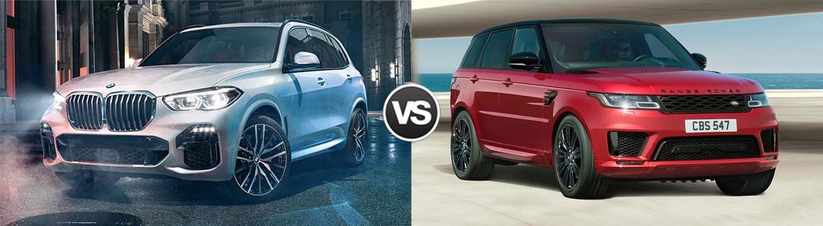 Compare 2019 Bmw X5 Vs 2019 Range Rover Sport Atlanta Ga