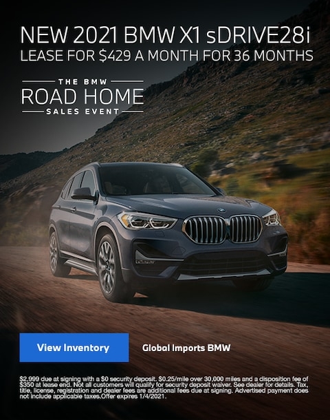 2021 BMW X1 Lease Specials