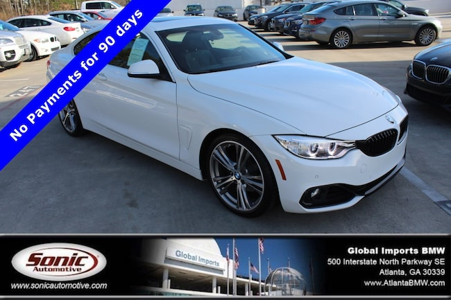 Certified Used 2016 BMW 428i w/SULEV Coupe in Atlanta