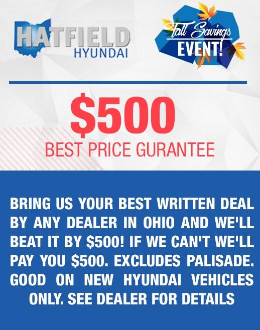 $500 Best Price Guarantee