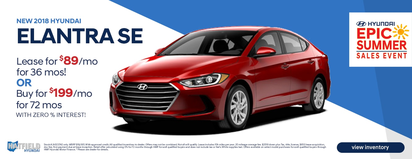 Hatfield Hyundai in Columbus | New & Used Hyundai Dealership