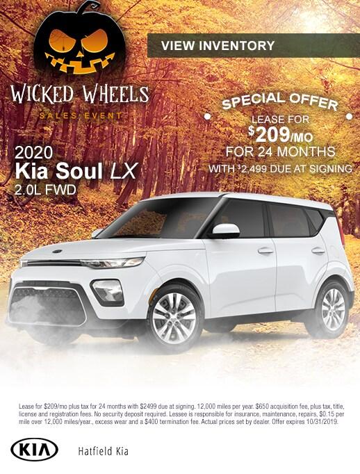 2020 Kia Soul Lease Special