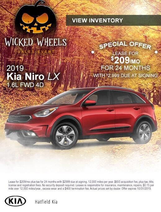 2019 Kia Niro Lease Special