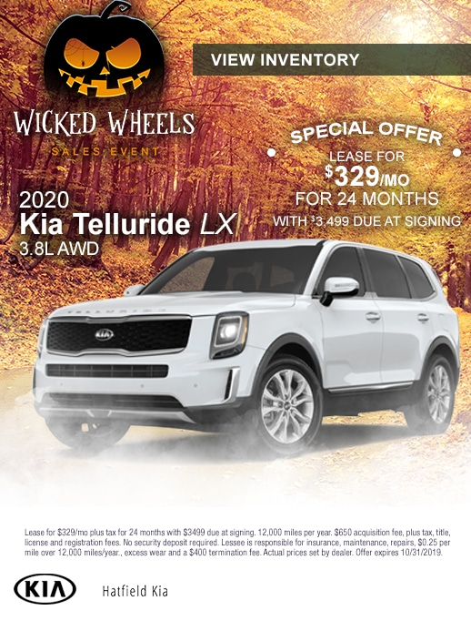 2020 Kia Telluride Lease Special