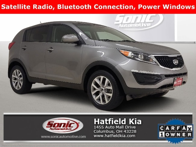 Certified 2016 Kia Sportage LX FWD 4dr SUV in Columbus
