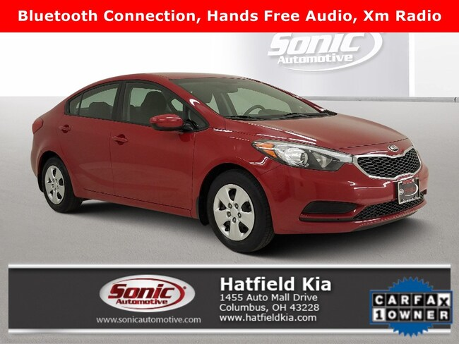 Used 2016 Kia Forte LX 4dr Sdn Auto Sedan in Columbus