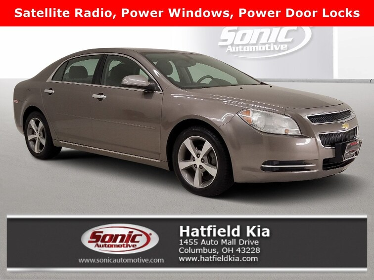 Bargain 2012 Chevrolet Malibu LT w/1LT 4dr Sdn Sedan for sale in Columbus, OH