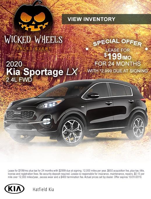2020 Kia Sportage Lease Special