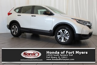 New 2018 Honda CR-V LX 2WD SUV for sale in Fort Myers, FL