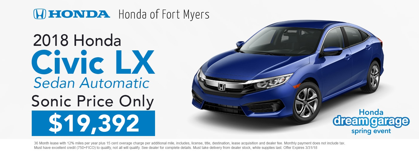 honda of fort myers new used cars near coconut point. Black Bedroom Furniture Sets. Home Design Ideas