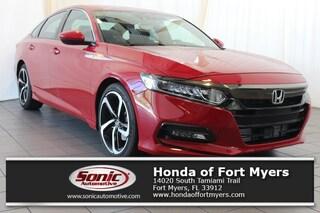 New 2018 Honda Accord Sport Sedan for sale in Fort Myers, FL