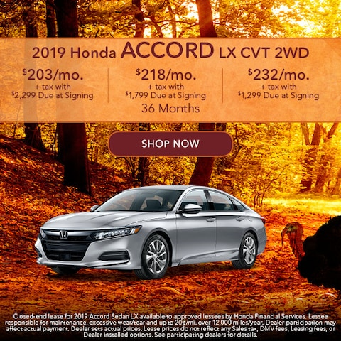 2019 Honda Accord LX CVT 2WD
