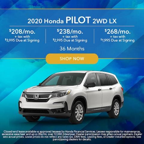 2020 Honda Pilot 2WD LX