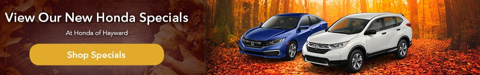 View Our New Honda Specials