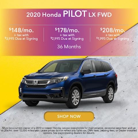 2020 Honda Pilot LX FWD