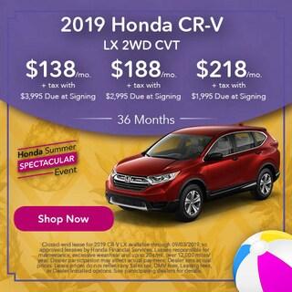 2019 Honda CR-V LX - Lease