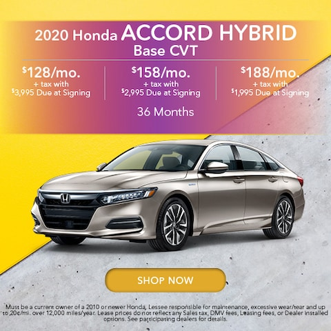 2020 Honda Accord Hybrid Base CVT