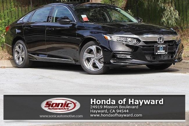 New 2018 Honda Accord EX-L 2.0T w/Navi Sedan in Hayward, CA