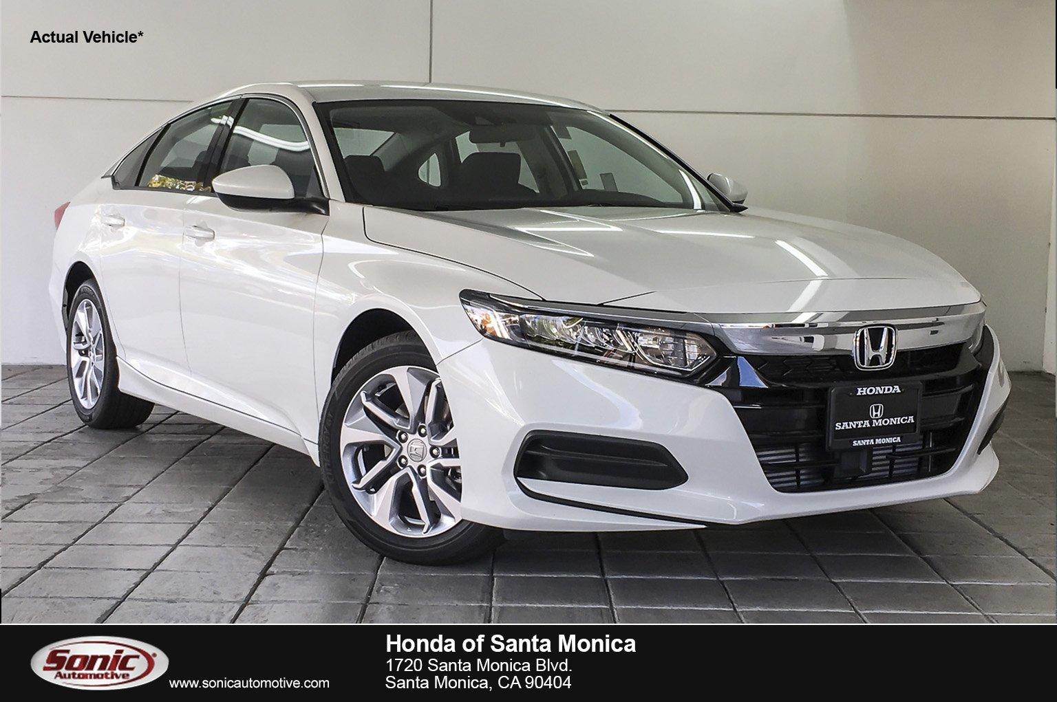 Honda Of Santa Monica >> New 2019 Honda Accord Lx For Sale In Santa Monica Ca Stock Ka084559