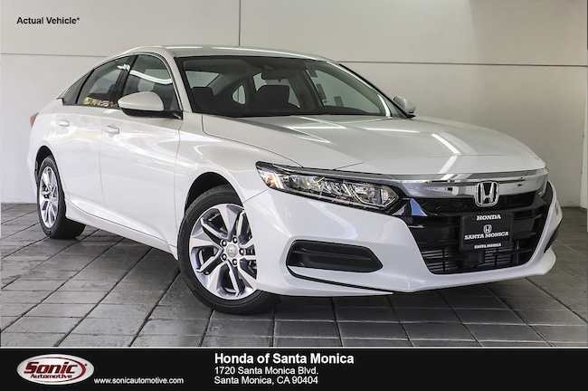 New 2019 Honda Accord LX Sedan in Santa Monica